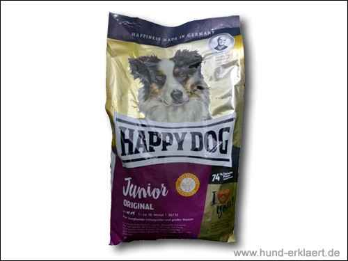 Happy Dog Supreme Dog Junior Original